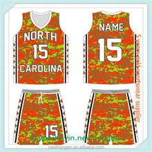Fashionable top sell sublimation basketball jersey/wear