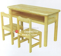 Children Classroom Furniture Desk and Chair for Kids Children Solid Wood Desk Chair