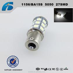 1156/P21W/BA15S Auto LED 5050 27SMD LED Reversing lights Turn lights Bulb