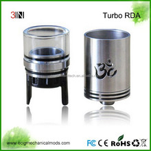 2015 New Product Rda Atomizer SS Turbo Wholesale Price On Sale