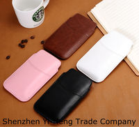 $0.9-$1.1/pc For samsung Galaxy S5 i9600 2014 Newest Soft Leather PU Sleeve Bag Pull Tab Pouch Case Cover Free Sample