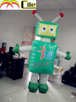 CILE latest custom cartoon robot advertisement inflatable model