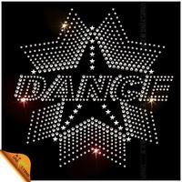2014 Wholesale Dance Star Rhinestone Design for Clothing