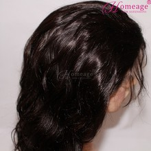 Homeage in stock cheap brazilian hair human jewish wig kosher wigs
