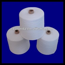 high quality 40S 100% spun polyester yarn manufacturer in china