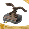 Antique Bronze&Brass Eagle Statue of Table Decor