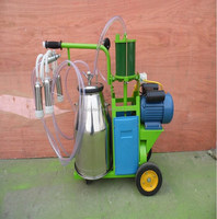 prices cow milking machine/High performance cow vacuum goat milking machine/lowest price stainless steel cow goat milking