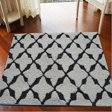popular home design easy clean mats and rugs with low price