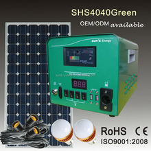 2015 new design small solar energy products 40W 50W 60W with mobile solar charger