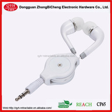 3.5mm jack Remotable headphone modern style for MP3 MP4 music players