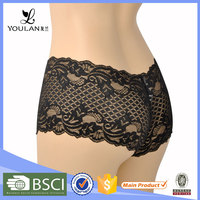 China Manufacturer Graceful Polyester Transparent Hot Sexy Girls Preteen Underwear