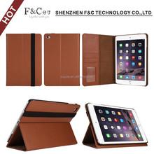 2015 brand new Smart Cover For iPad mini 4 PU Leather Sleep Wake Stand Cover Case For iPad Mini 4
