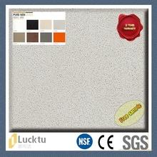 Artificial stone texture non toxic heat resistance multicolor quartz stone