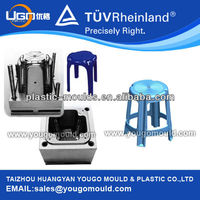 Good quality high precision plastic mold manufacturer household plastic stool mold Taizhou China