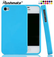For Apple iphone 4G 4S Soft Candy TPU Case Supplier