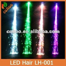 Party decoration fashion items led hair flashing hair