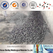 Low Price New Steelmaking Materials Ferro Silicon Ball 65,60 Manufacturer