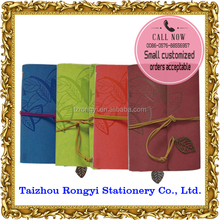 Factory price organizer with different colors PU cover