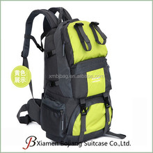 polyester material duffel backpack luggage bag for travel
