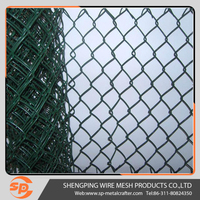 Hot sale Low price 5 foot PVC coated chain link wire mesh fencing