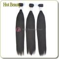 Las extensiones de cabello natural baratas que puede teñirse cualquier color