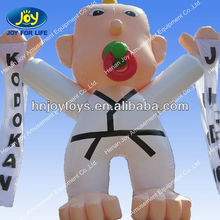 2014 new style inflatable figures for judo advertising