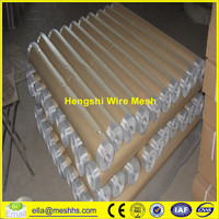 Hot dipped galvanized after welding 25m roll length square hole woven mesh Crimped Wire Mesh