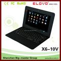 10.1 дюйма дешевый сенсорный экран ноутбука ноутбук со встроенным в веб-камера