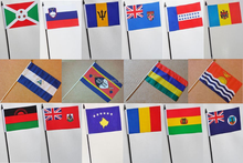 Very cheap PE hand held flag, hand waving flag polyester hand waving flag