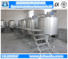 1500L/batch draft beer brewery plant , full automatic brewery for craft beer production equipment from malt to beer