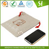 Made in China Cheap Eco-friendly jute drawstring bag pouches for iphone