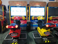 Game center popular 42 inch LCD good quality and cheap amusement motorcycle racing simulator
