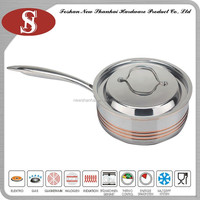 China product 5ply stainless steel fry pan