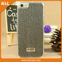 Fashion Wood Wooden Grain Hybrid Hard PC Case For Iphone 5S Colorful Plastic Cases Back Skin Cover