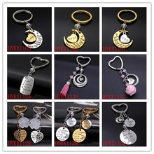 2015 Customized personalized key chain ,Wholesale family word keychain,Ladies bag accessories