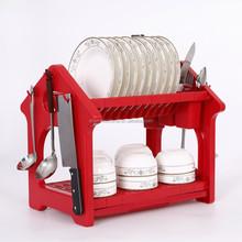 Hot selling Plastic Storage dish shelf , the best kitchen Organizer