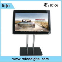 Large assortment table stand media player, 1080p rotatable Digital Advertising
