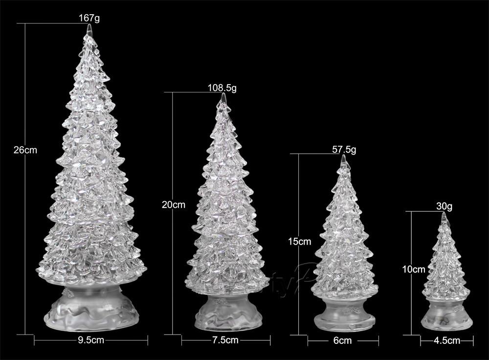Small Lighted Christmas Tree
