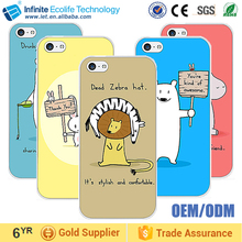DIY Custom your owner image 2D sublimation phone case for iphone 5c/ phone case custom
