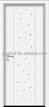 new design MDF solid wooden interior white door for room
