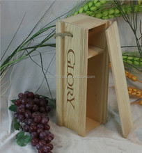 cheap wood wine gift box , fashion laser engraved wooden wine gift box by shanghai manufacturer