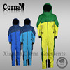 100% Nylon taslon ripstop with coating shell fabric men jump suit 4000mm waterproof custom jacket for wholesales