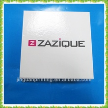 square paper gift packaging can/box with lid wholesale