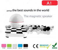 Shenzhen latest craze new products 2015 Magnetic Floating cute bluetooth speaker vatop mini bluetooth speaker