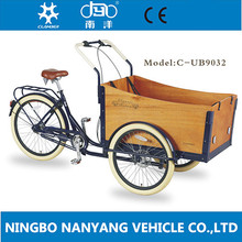 3 wheeler cargo tricycle for family