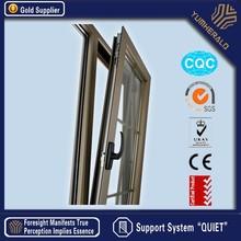 Thermal Break Double Glazing Aluminum Tilt and Turn French Doors