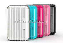 Luggage style 6600mah universal external portable mobile power bank