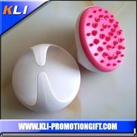 D shape handheld roller white and red neck massager breast massager face massager
