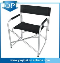 Aluminum Folding Directors Chairs black color camping chair folding chair