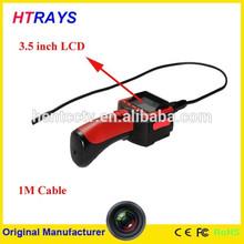 3.5 pulgadas hd tft monitor de vídeo y tomar fotografías alcance de serpiente de la cámara de inspección